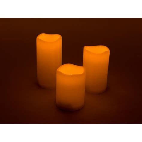 candele a led con telecomando set 3 candele a led con telecomando ir