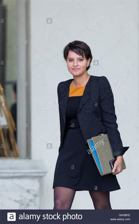 Cabinet Najat Vallaud Belkacem by Minister Education Najat Vallaud Belkacem Stock