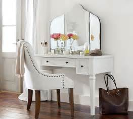 Vanity Chair Pottery Barn Meredith Vanity Desk Pottery Barn