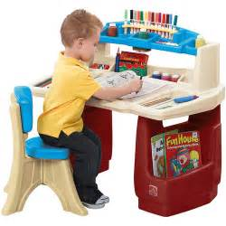 Walmart Kids Desk Step2 Deluxe Art Master Desk Walmart Com