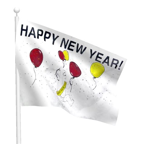 new year flag happy new year flag flags international