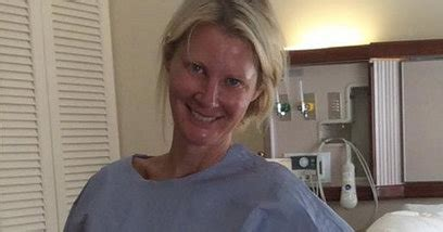 in sandra lees post surgery photos a sensitive side of sandra lee is released from hospital after surgery for