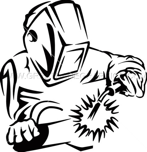 welding clipart welder clipart black and white pencil and in color