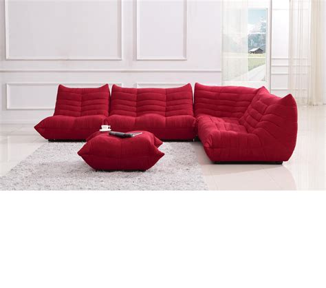 modern fabric sectional dreamfurniture com divani casa bloom modern fabric