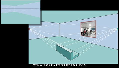 Interior Home by How To Draw A 2 Point Perspective Room