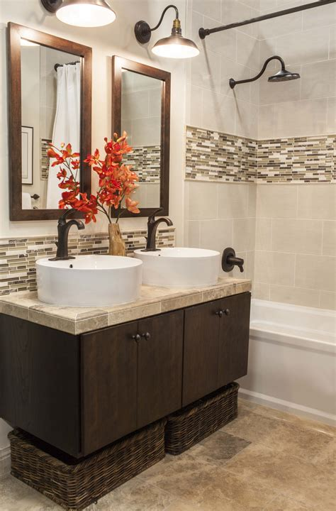 Bathroom Accents Ideas Accent Tile Bathroom On Vertical Shower Tile Small Room And Bathtub Shower Combo