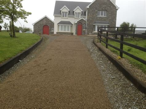 Landscaping Ideas Ireland Affordable Driveways 171 Garden Fit Garden And