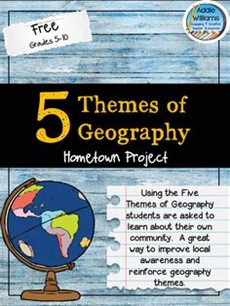 5 themes of geography games lesson plan template teaching ideas pinterest