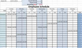 daily work schedule template excel scheduling templates excel scheduling templates