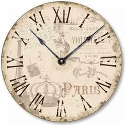 Love Pink Bedding Vintage Wall Clock