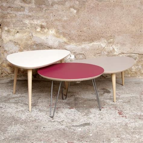 made in table basse tripode gigognes sur mesure