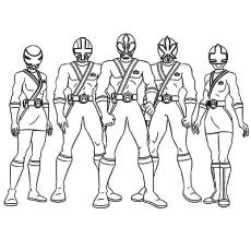 coloring pages of power rangers megaforce power rangers megaforce free colouring pages