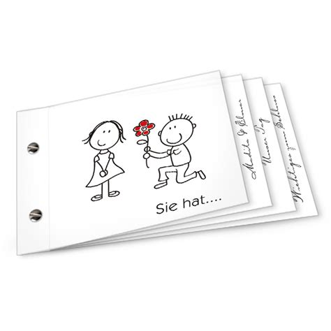 Hochzeitseinladung Booklet by Karten Gestalten Diekarten Ch