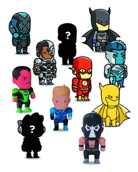 Kaos Lego Graphic 4 scribblenauts unmasked series 2 blind mystery box mini