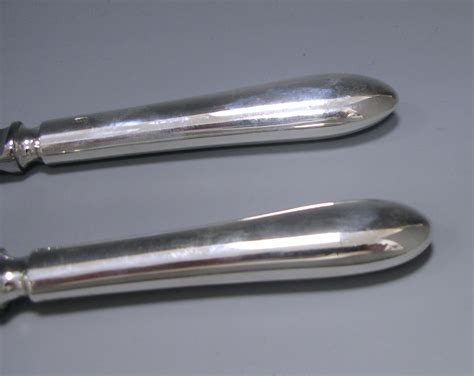 old english pattern knives antique silver old english pattern flatware service by