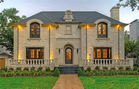 french chateau style homes french chateau masterpiece in university park tx homes