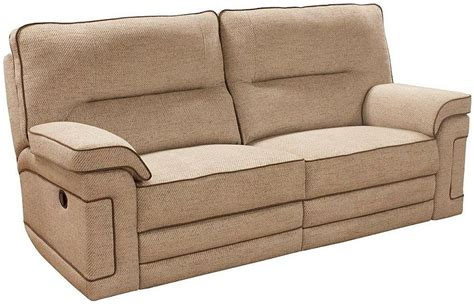 recliner sofa fabric buy buoyant plaza 3 seater fabric recliner sofa online