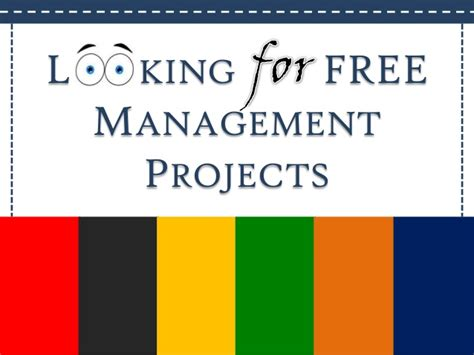 Mba In Project Management New York by Hr Marketing Finance Free Mba Projects