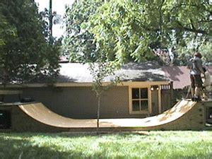 Build A Halfpipe In Backyard Free Skate Ramp Plans