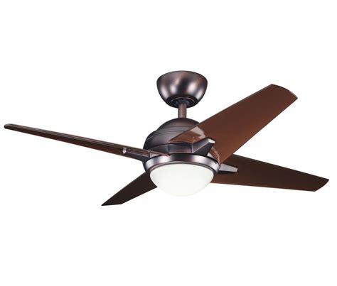 kichler link ceiling fan kichler 300147obb oil brushed bronze w clear oil brushed