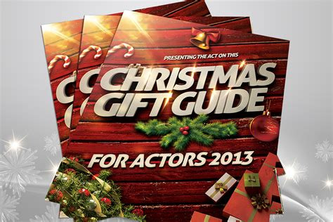 the act on this christmas gift guide for actors 2013 is