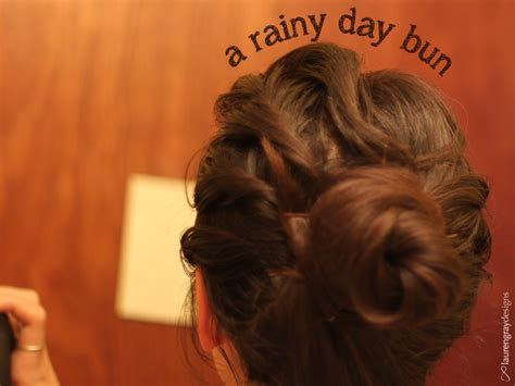 hairstyles for short hair on rainy days hair styles a rainy day bun at infinite nu
