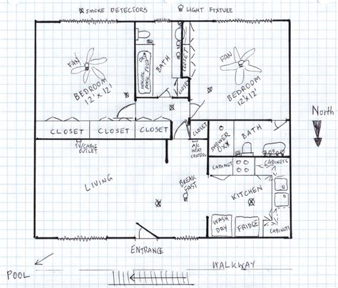 how to draw floor plans by hand drawing floor plans by hand best how to draw a house