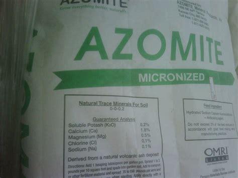 pounds azomite fine powder organic rock dust mineral