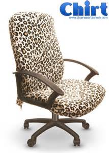 Office Chair Covers Chirt Cool Custom Office Chair Cover Called The Leopard