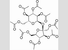 Sucrose octaacetate - Wikipedia Ether Structure