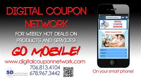 digital coupon network southern digital indoor advertising