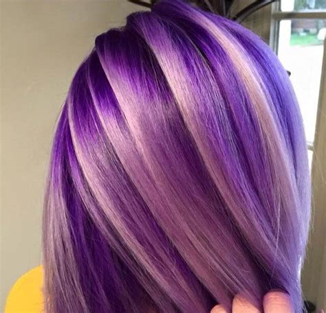 hairstyles with blonde and purple highlights 48 best images about couleur cheveux on pinterest rose