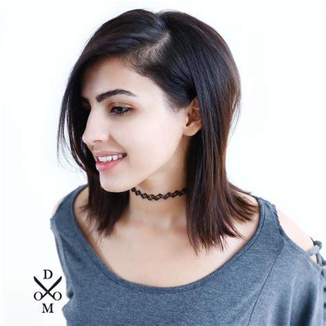 thick lob medium length haircuts for thick hair