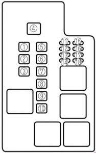 Mazda 626 1997 2002 Fuse Box Diagram Auto Genius
