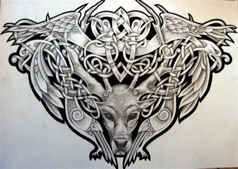 celtic bird tattoo designs celtic designs celtic stag bears viking