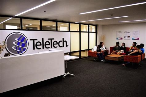 teletech opens its 17th site in cubao check out their