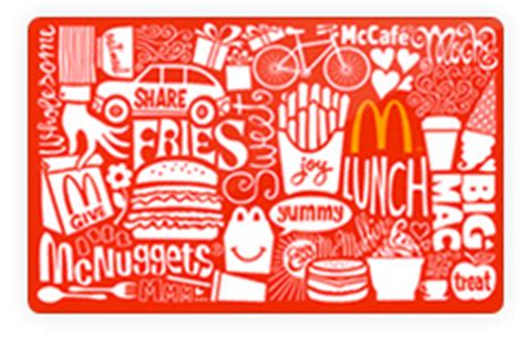 printable mcdonalds gift certificates 50 mcdonalds gift card for 26 90 southern savers