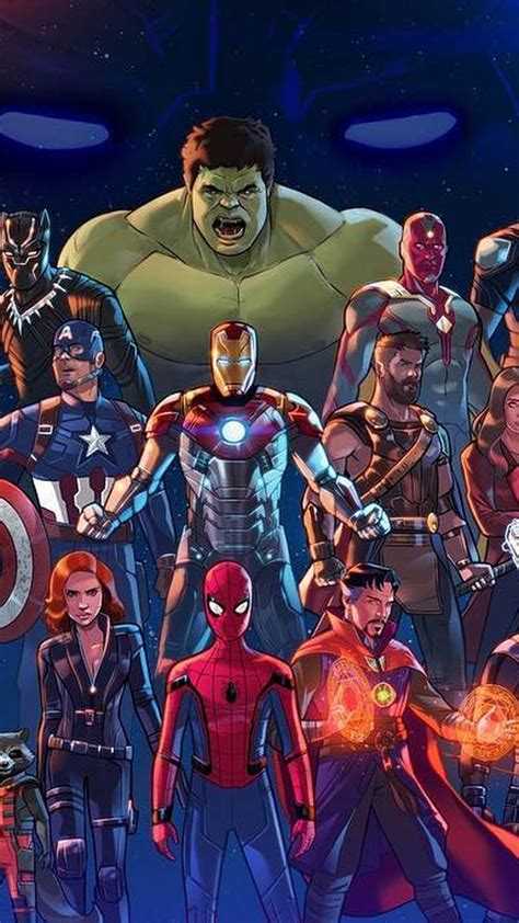 wallpaper android avengers infinity war  android