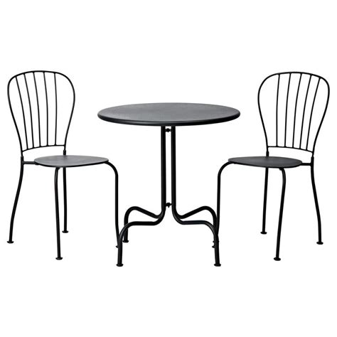 Outdoor Bistro Table And Chairs Ikea Beautiful Outdoor Bistro Set Ikea Homesfeed