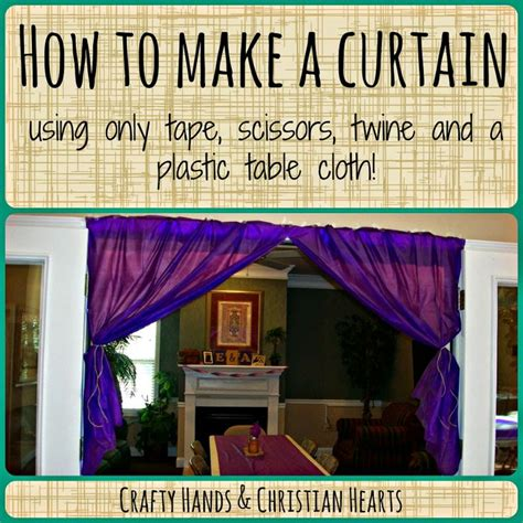 dollar tree curtains make a curtain with a dollar tree plastic table cloth