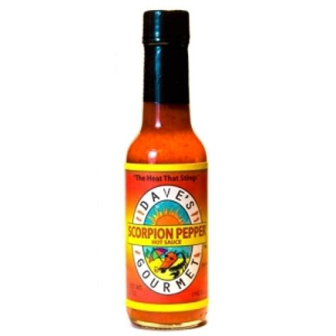 dave s dave s insanity scorpion pepper sauce
