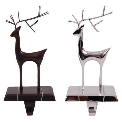 reindeer stocking holder twig reindeer stocking holder