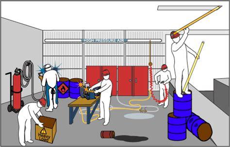 vr manufacturing plant intermediate spot the hazard