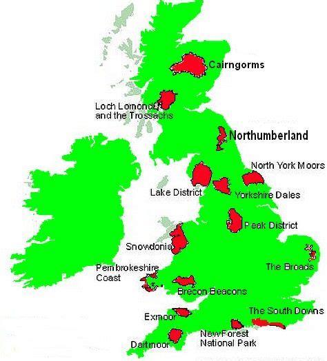 map uk national parks uk peak district national park how many national parks