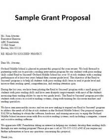 Business Funding Proposal Template Business Proposal Letter Sample Grant Proposal