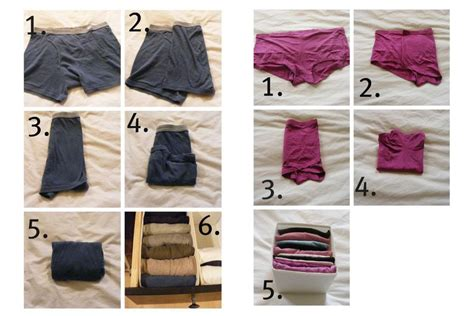 how to save major closet and drawer space