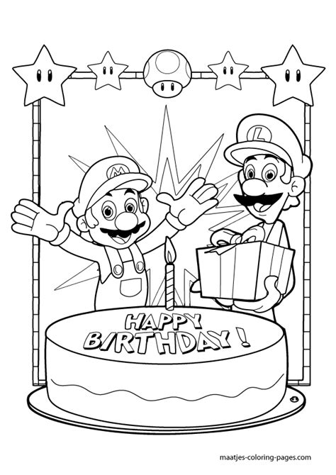 super mario 64 free coloring pages