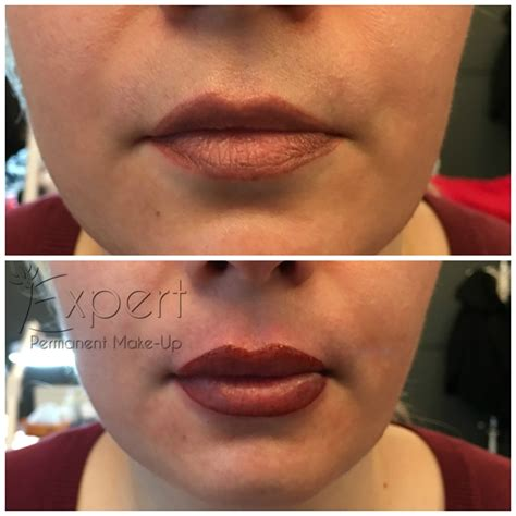 liegestütze vorher nachher vorher nachher bilder permanent make up lippen in