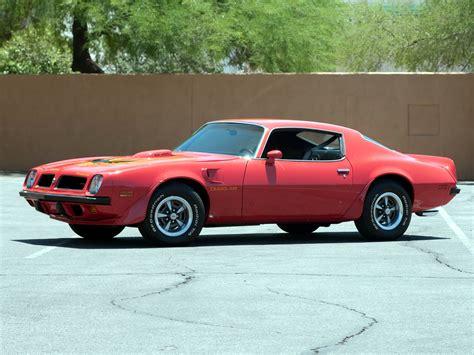 pontiac sd 455 1974 pontiac firebird trans am sd 455 2fv v87