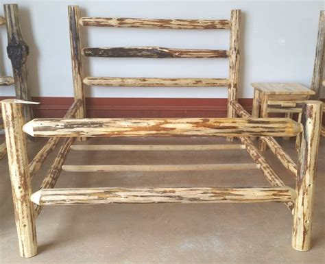 cedar log bench wood furniture pinterest montana lodge rustic log bed log furniture pinterest montana products and lodges